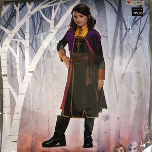 Other - Frozen II- NEW Anna costume size kids 7-8